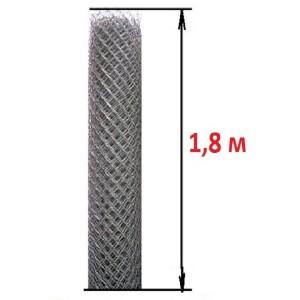 Сетка рабица (высота 1,8 м., проволока 1,8 мм.)